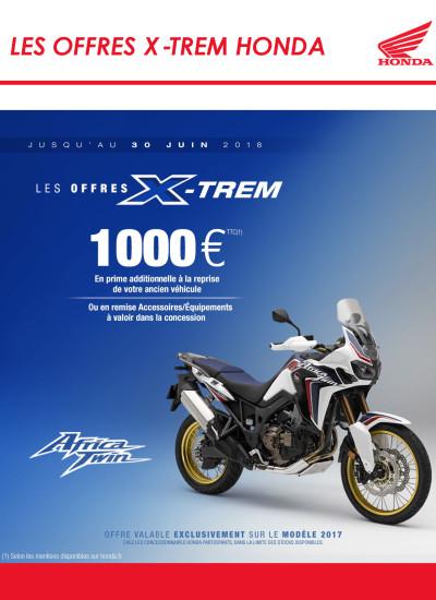LES OFFRES X-TREM HONDA - 1000 €