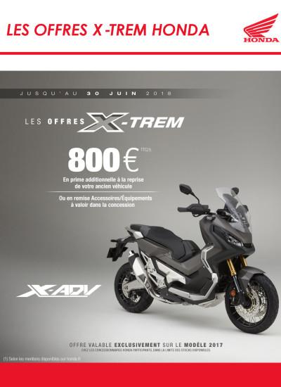 LES OFFRES X-TREM HONDA - 800 €