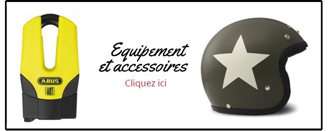 Equipements et accessoires