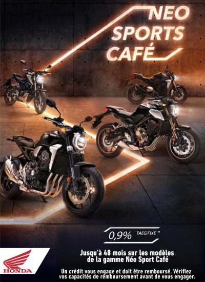 HONDA gamme Neo Sports Café