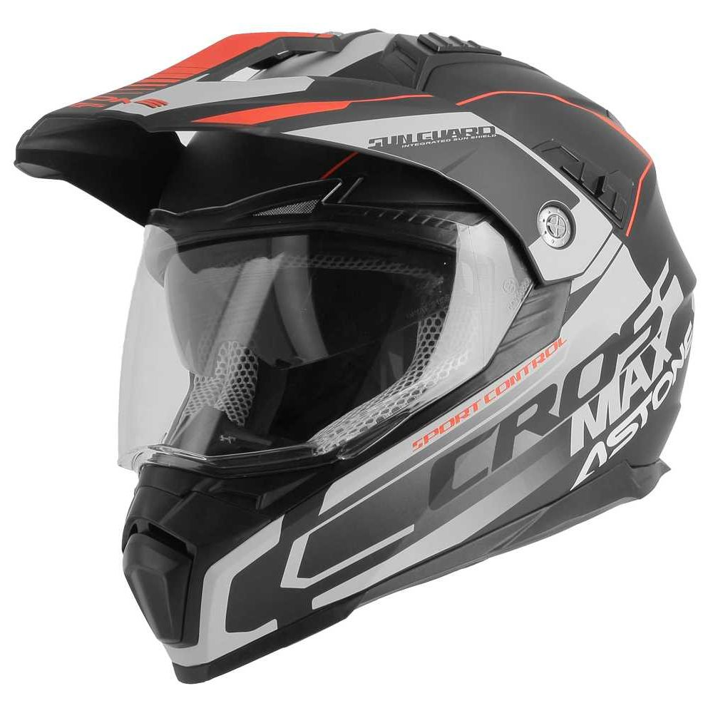 CASQUE ASTONE CROSSMAX GRAPHIC