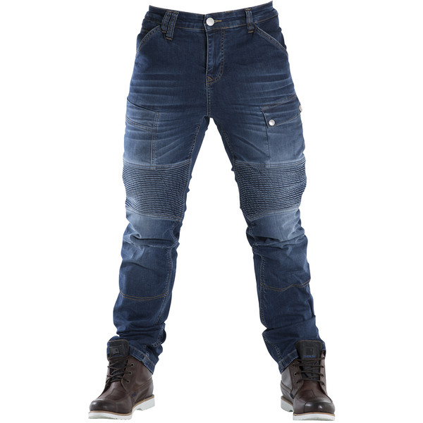 PANTALON JEANS OVERLAP ROAD SMALT