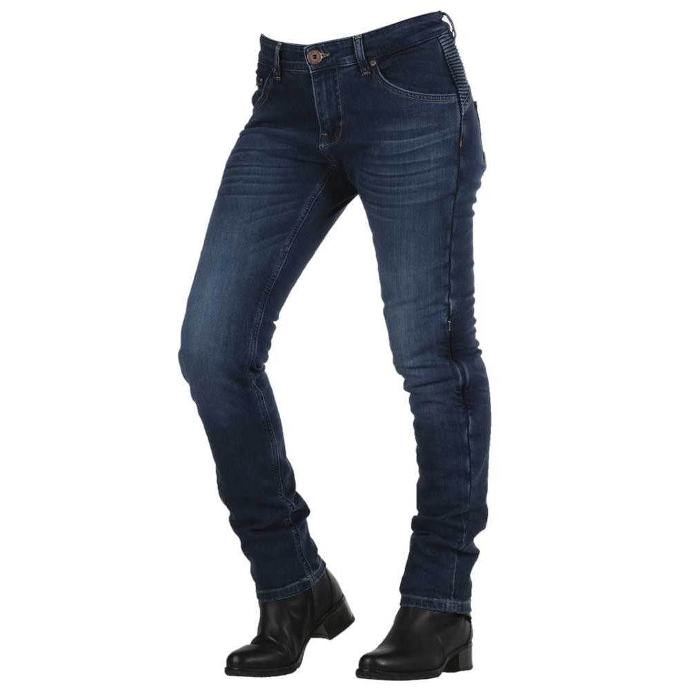 PANTALON JEANS OVERLAP FILLE CITY SMALT